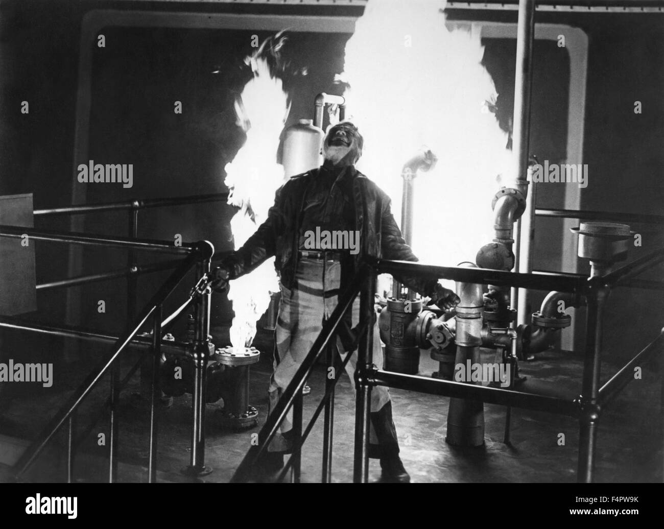 James Cagney / White Heat / 1949 directed by Raoul Walsh [Warner Bros. Pictures] - Stock Image