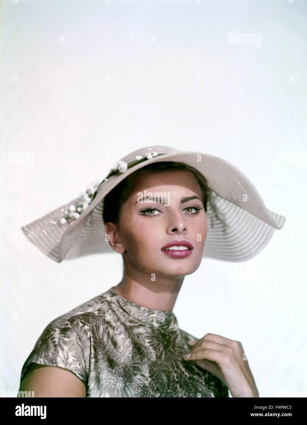 Sophia Loren 1958 [Columbia Pictures] - Stock Image