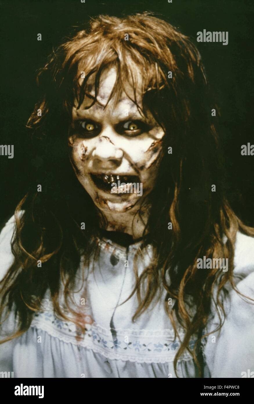 Linda Blair / The Exorcist / 1973 directed by William Friedkin [Warner Bros. Pictures] - Stock Image