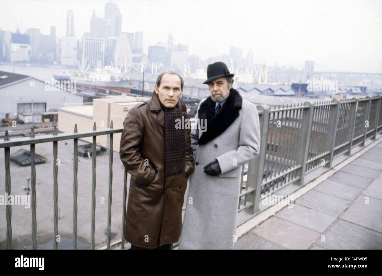 Marcel Bozzuffi and Fernando Rey / The French Connection / 1971 directed by William Friedkin  [Twentieth Century - Stock Image