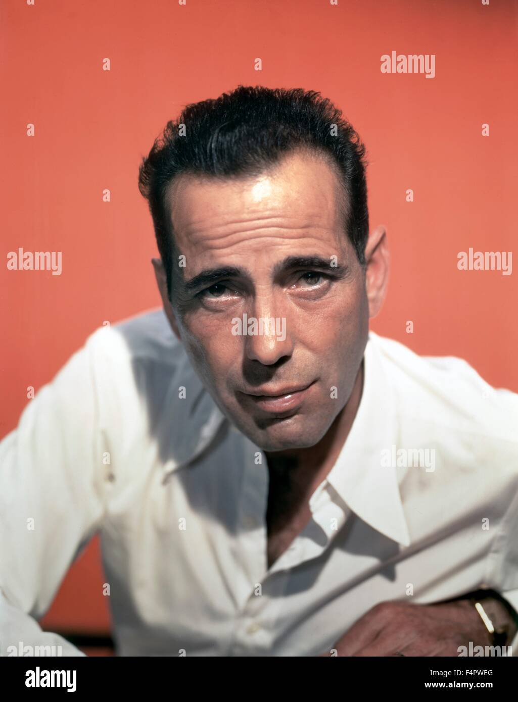 Humphrey Bogart in the 50's - Stock Image