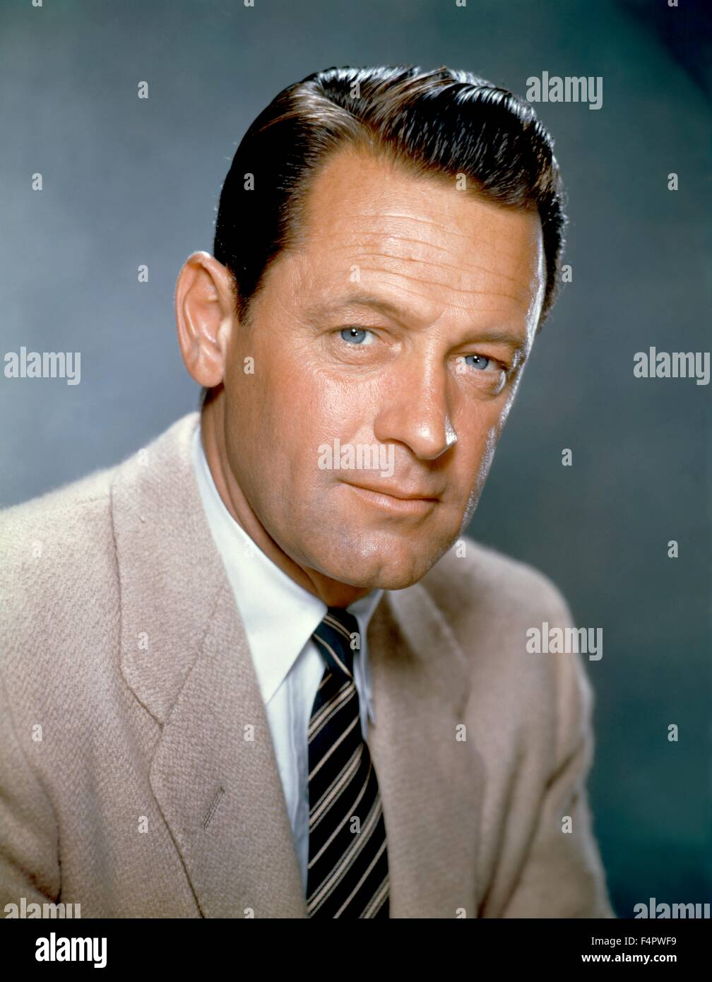 William Holden in the 60's. - Stock Image