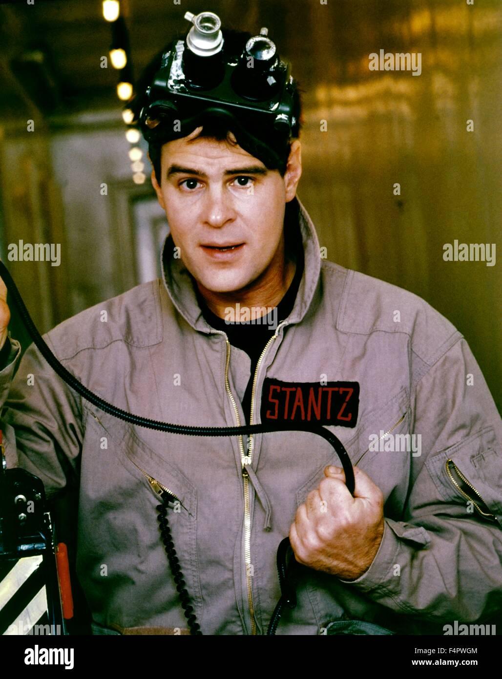 Dan Aykroyd / Ghostbusters / 1984 directed by Ivan Reitman [Columbia Pictures] - Stock Image