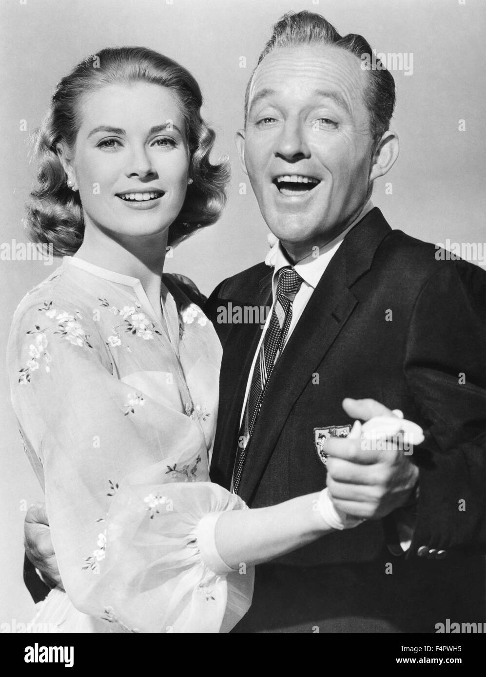 Grace Kelly and Bing Crosby / High Society / 1956 directed by Charles Walters [Metro-Goldwin-Mayer Pictures] - Stock Image
