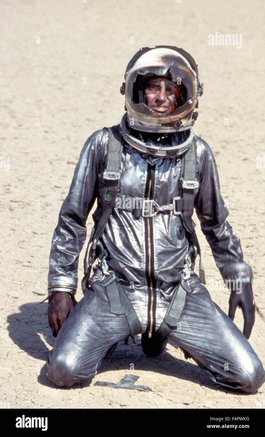Sam Shepard / The Right Stuff / 1983 directed by Philip Kaufman [The Ladd Company / Warner Bros.] - Stock Image