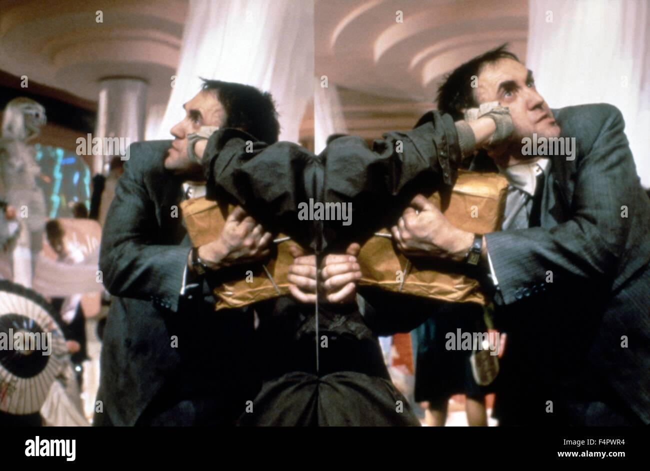 Jonathan Pryce / Brazil / 1985 directed by Terry Gilliam [Embassy International Pictures] - Stock Image