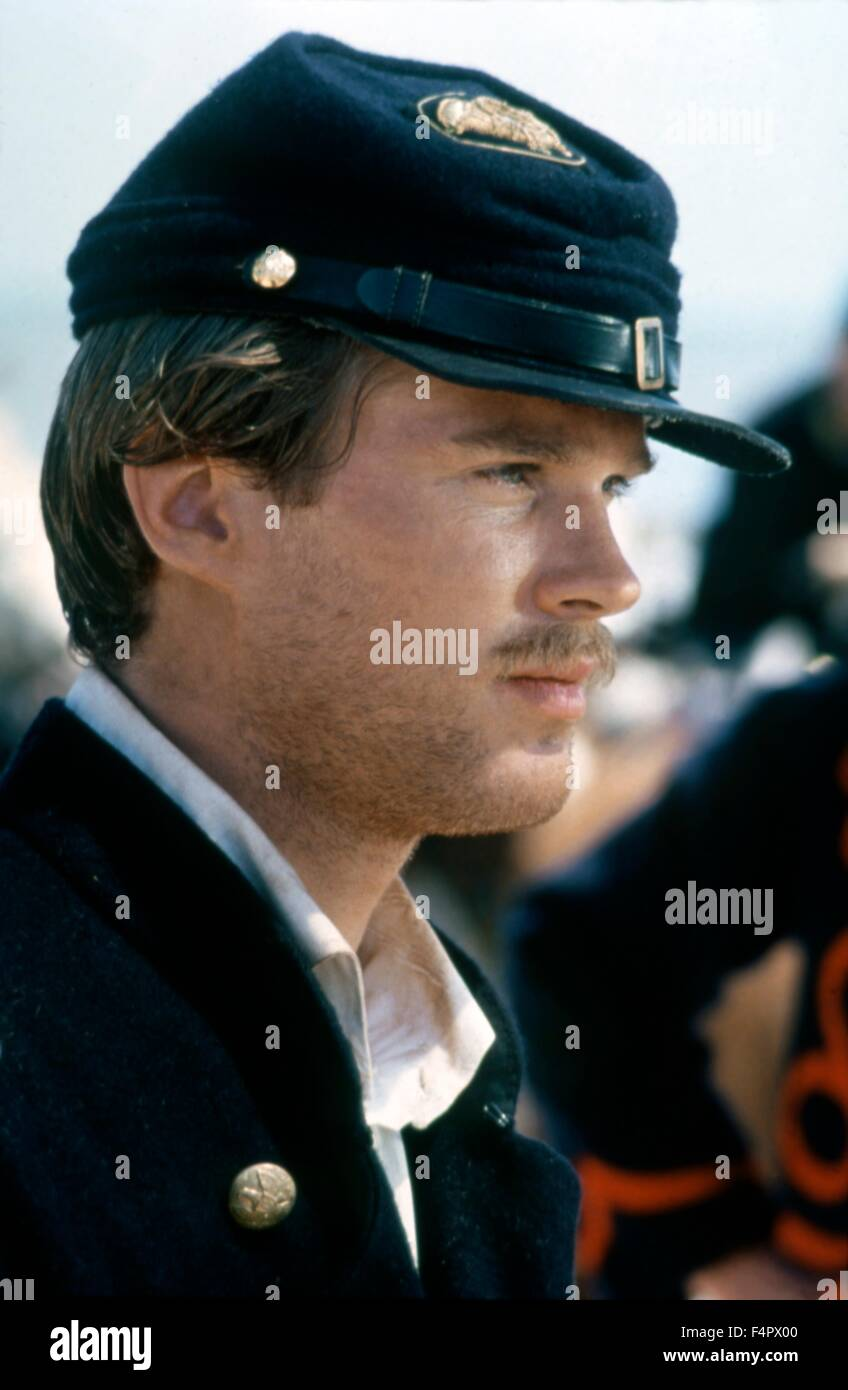 Cary Elwes / Glory / 1989 directed by Edward Zwick [TriStar Pictures] - Stock Image