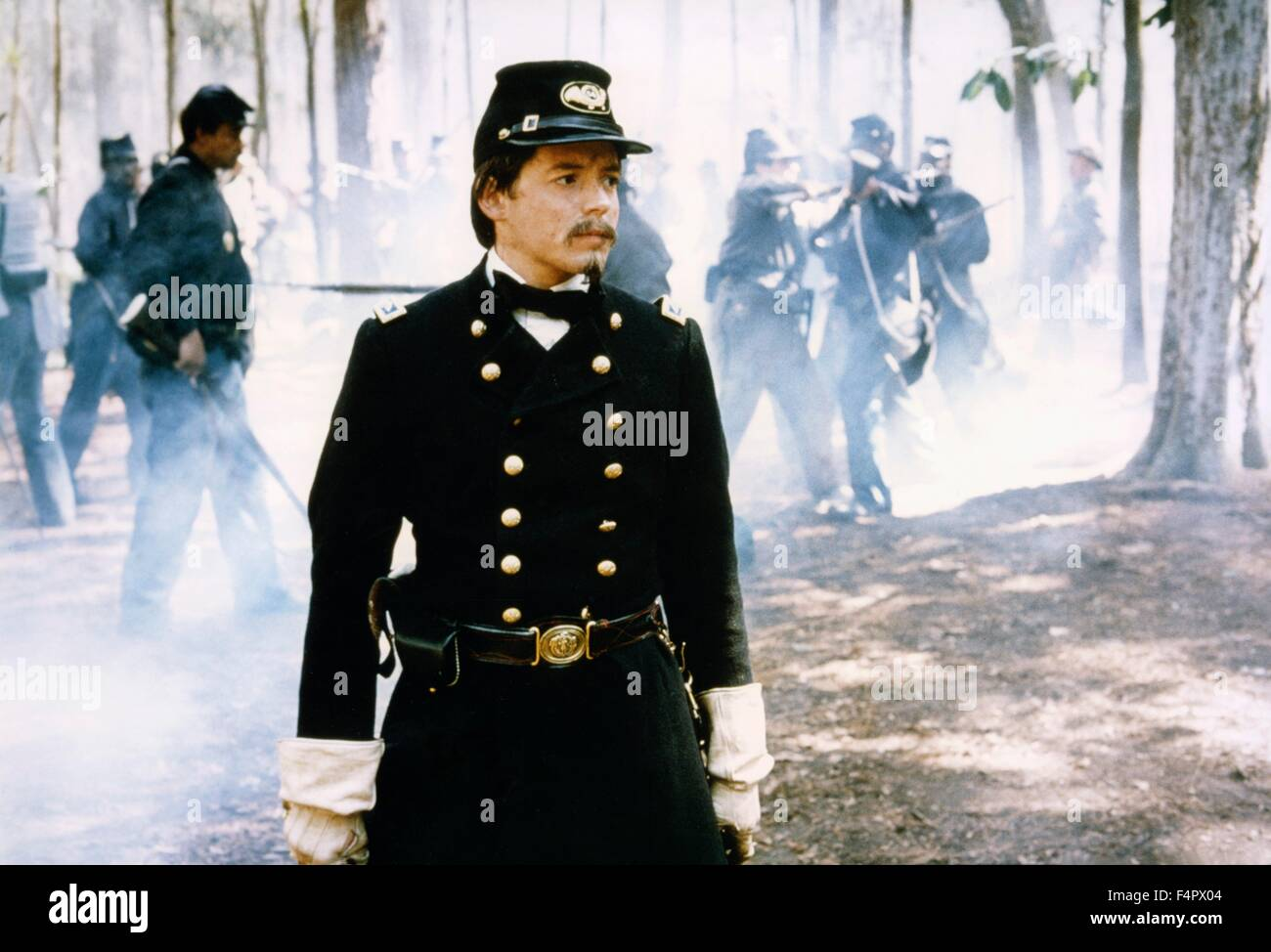 Matthew Broderick / Glory / 1989 directed by Edward Zwick [TriStar Pictures] - Stock Image