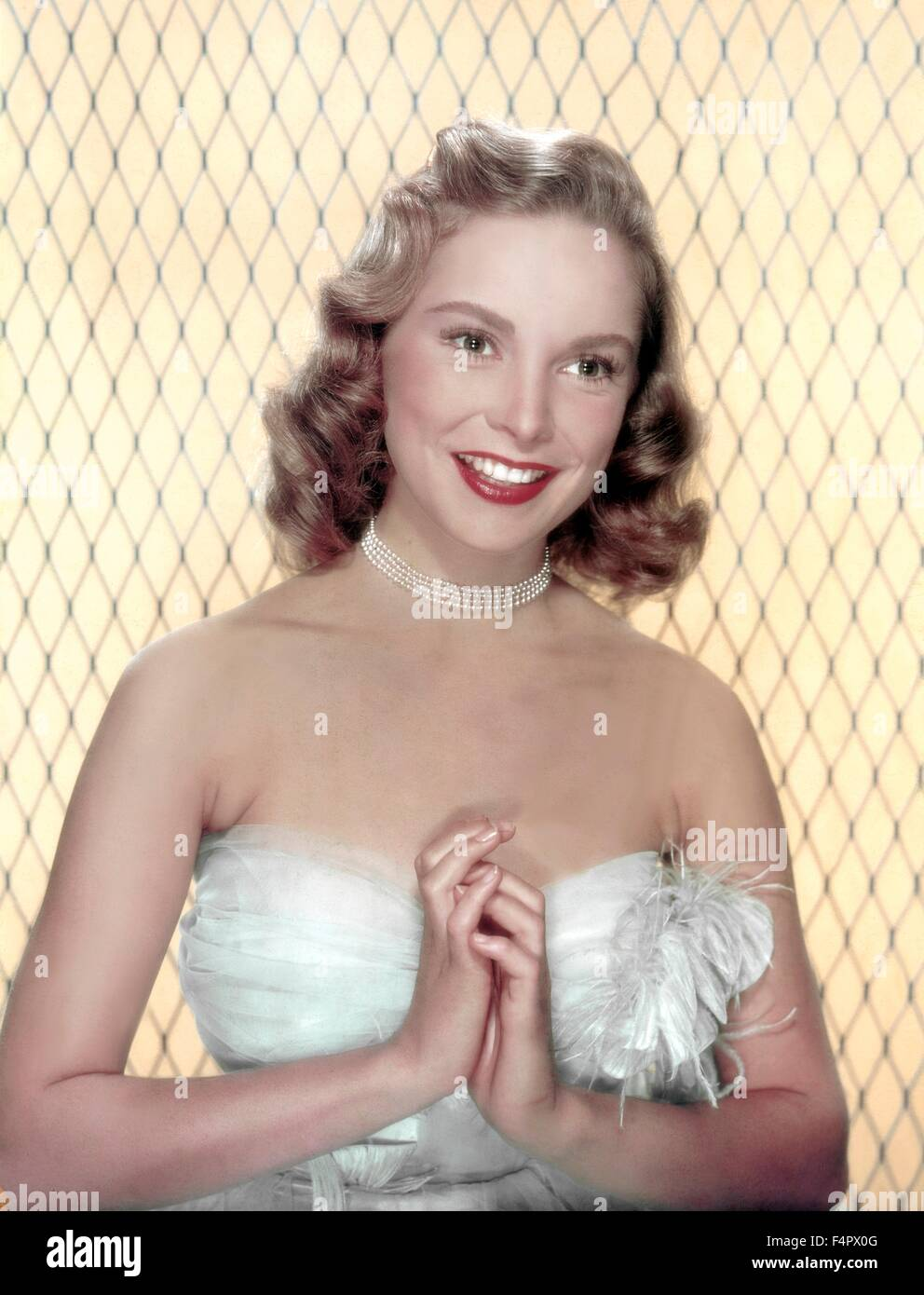 Janet Leigh in the 40's - Stock Image
