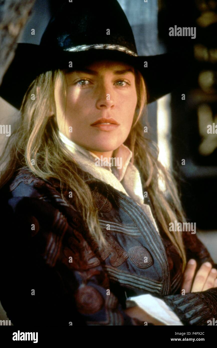 Sharon Stone / The Quick and the Dead / 1995 directed by Sam Raimi  [TriStar Pictures] - Stock Image