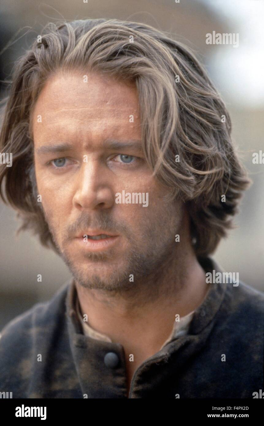 Russell Crowe / The Quick and the Dead / 1995 directed by Sam Raimi  [TriStar Pictures] - Stock Image