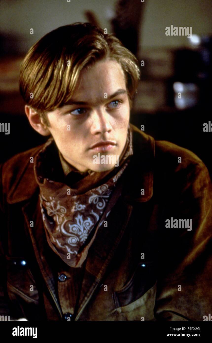 Leonardo DiCaprio /  The Quick and the Dead / 1995 directed by Sam Raimi  [TriStar Pictures] - Stock Image