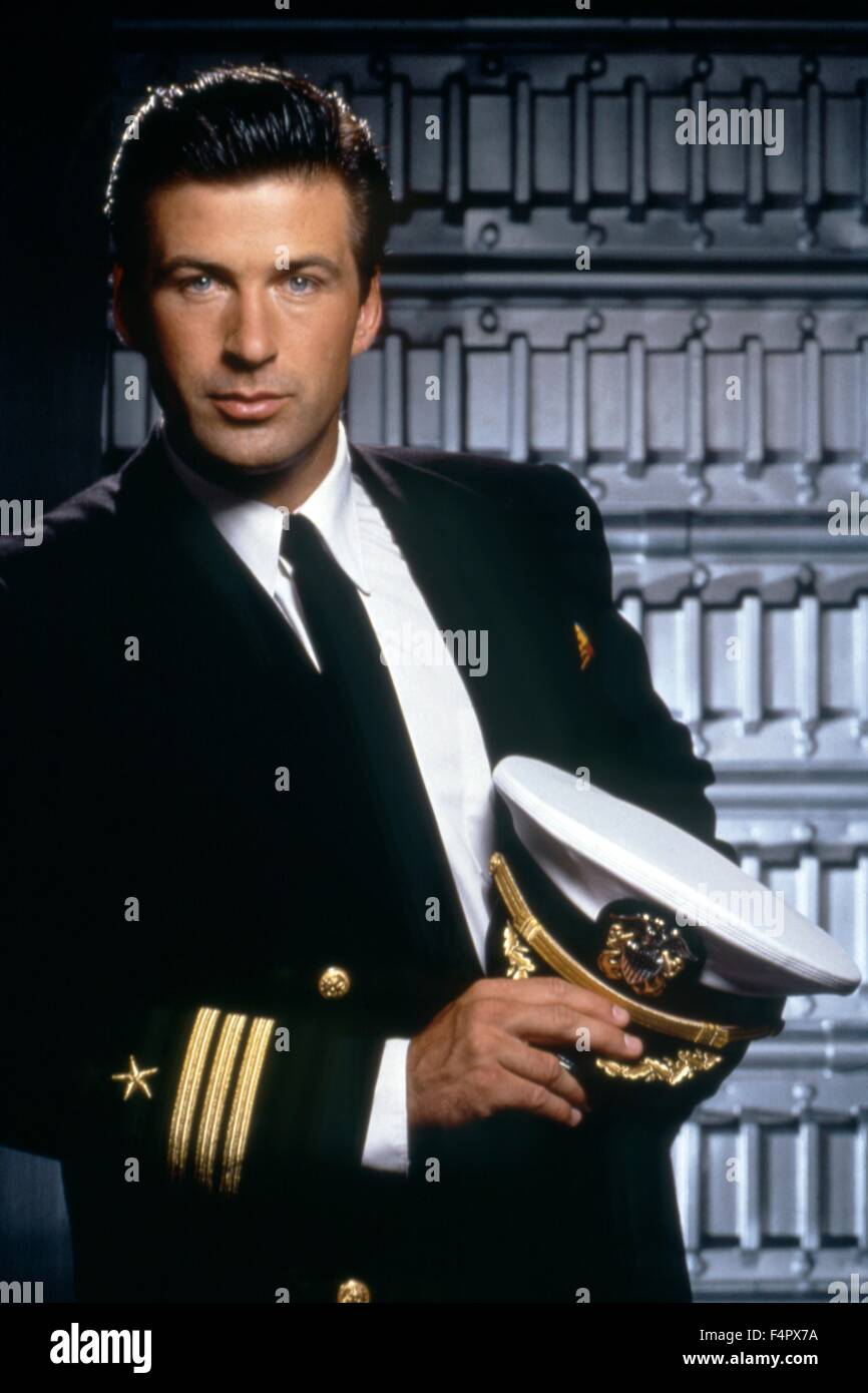 Alec Baldwin / The Hunt For Red October / 1990 / directed by John Mctiernan / [Paramount Pictures] Stock Photo