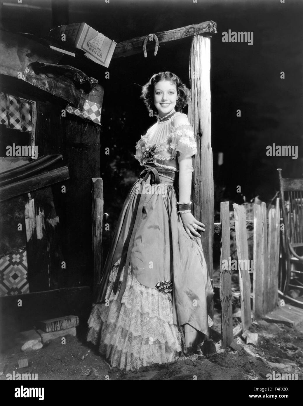 Loretta Young / Man's Castle / 1933 / directed by Frank Borzage / [Columbia Pictures] - Stock Image