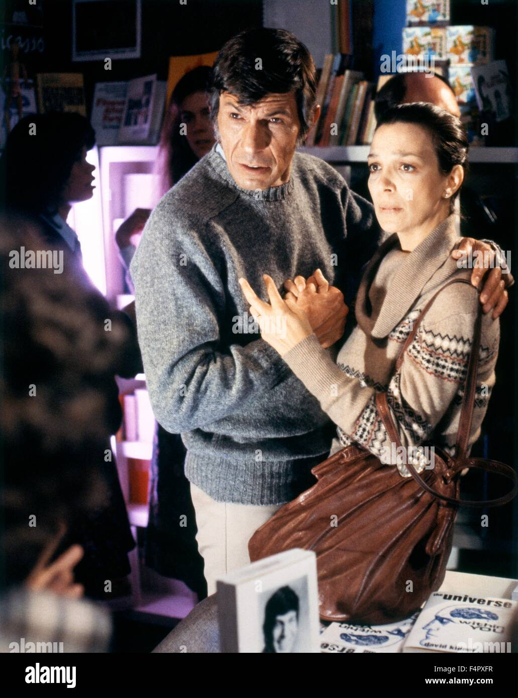 Leonard Nimoy and Lelia Goldoni / Invasion Of The Body Snatchers / 1978 / Directed By Philip Kaufman / [United Artists] - Stock Image