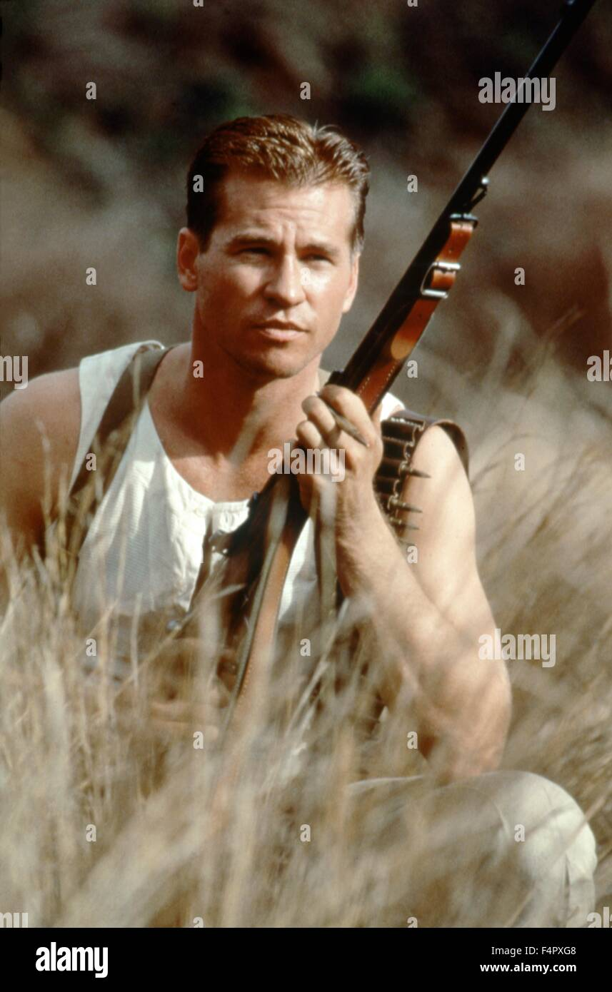 Val Kilmer  / The Ghost And The Darkness / 1996 / directed by Stephen Hopkins / [Constellation Entertainment / Do] - Stock Image