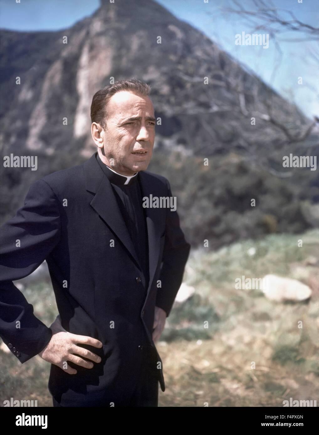 Humphrey Bogart / The Left Hand Of God / 1955 / directed by Edward Dmytryk / [Twentieth Century Fox Film Corpo] - Stock Image