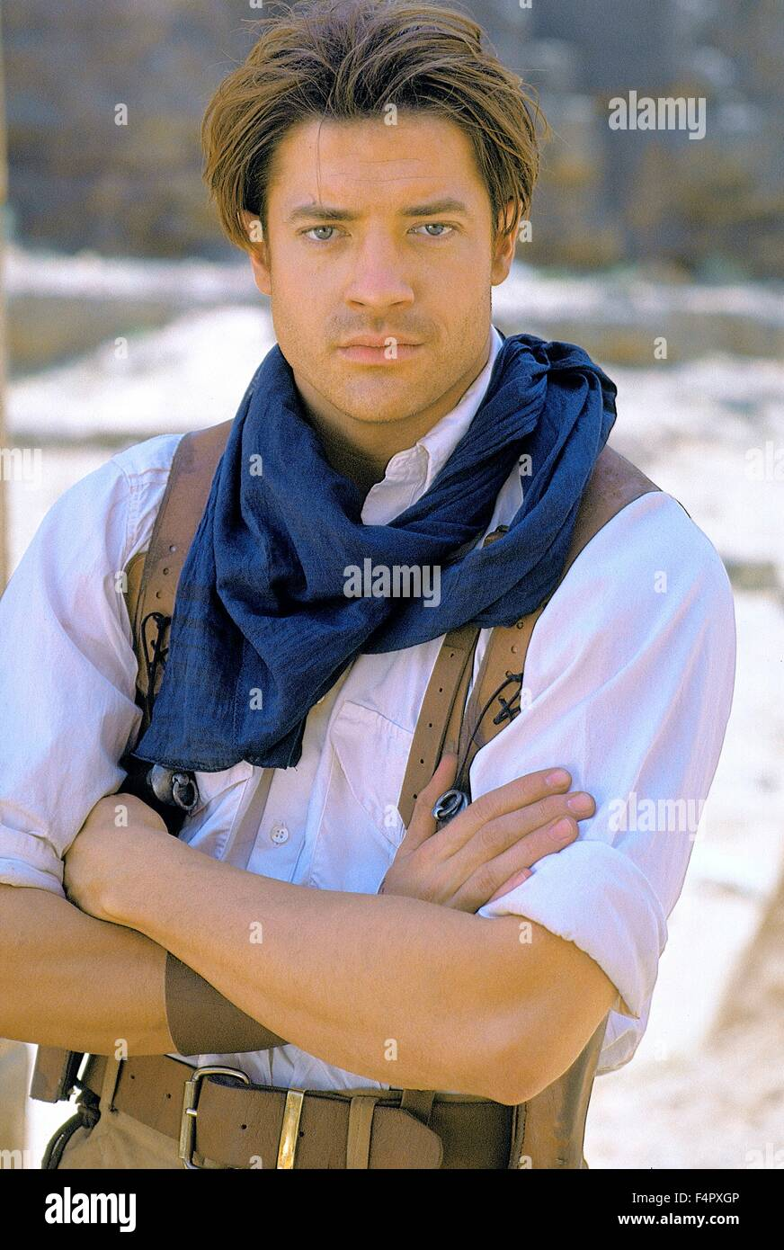 Brendan Fraser / The Mummy / 1999 / directed by Stephen Sommers / [Universal Pictures] - Stock Image
