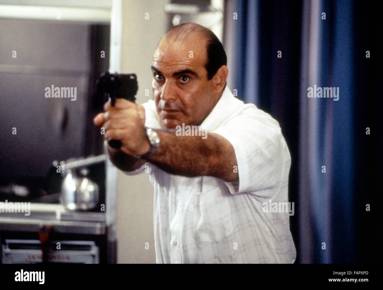 David Suchet / Executive Decision / 1996 / directed by Stuart Baird / [Silver Pictures / Warner Bros. P] - Stock Image