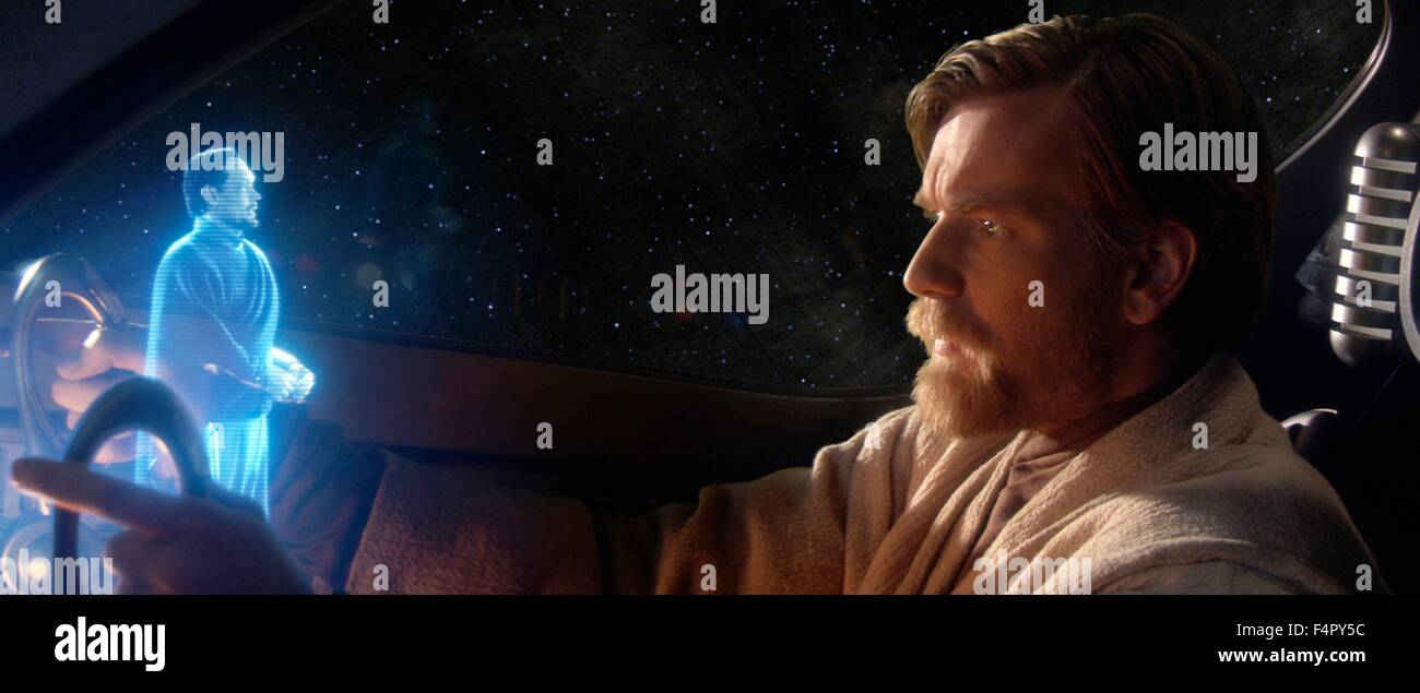 Ewan McGregor (Obi-Wan Kenobi) and Jimmy Smits (Bail Organa) / Star Wars-Episode III Revenge of the Sith / 2005, - Stock Image