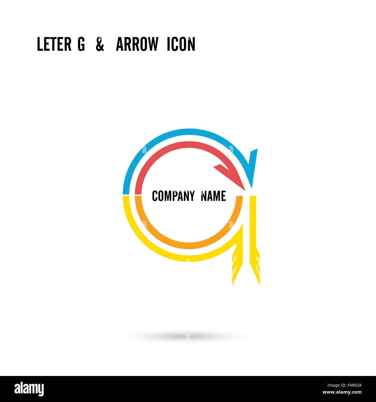 Creative letter G icon abstract logo design template. Corporate ...