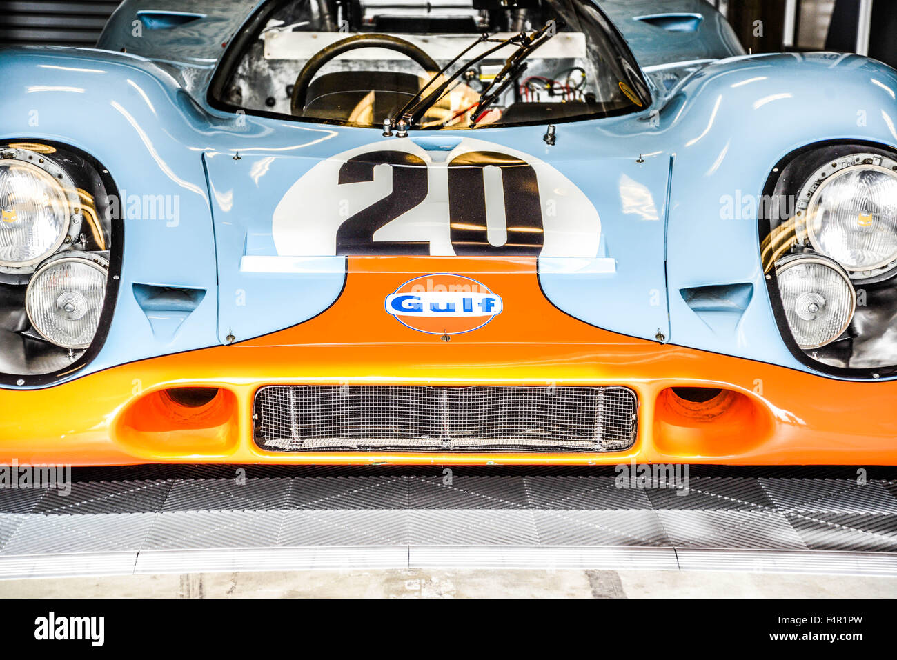 Iconic Le Mans Porsche Stock Photo