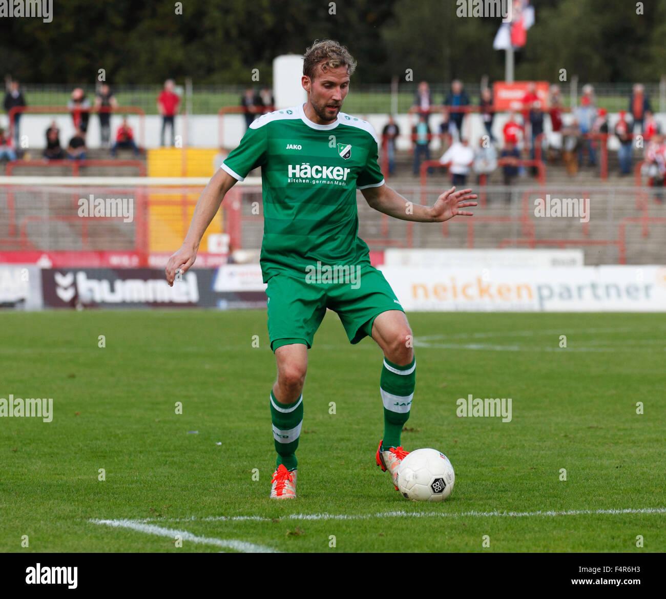 sports, football, Regional League West, 2015/2016, Rot Weiss Oberhausen versus SV Roedinghausen 2:0, Stadium Niederrhein - Stock Image