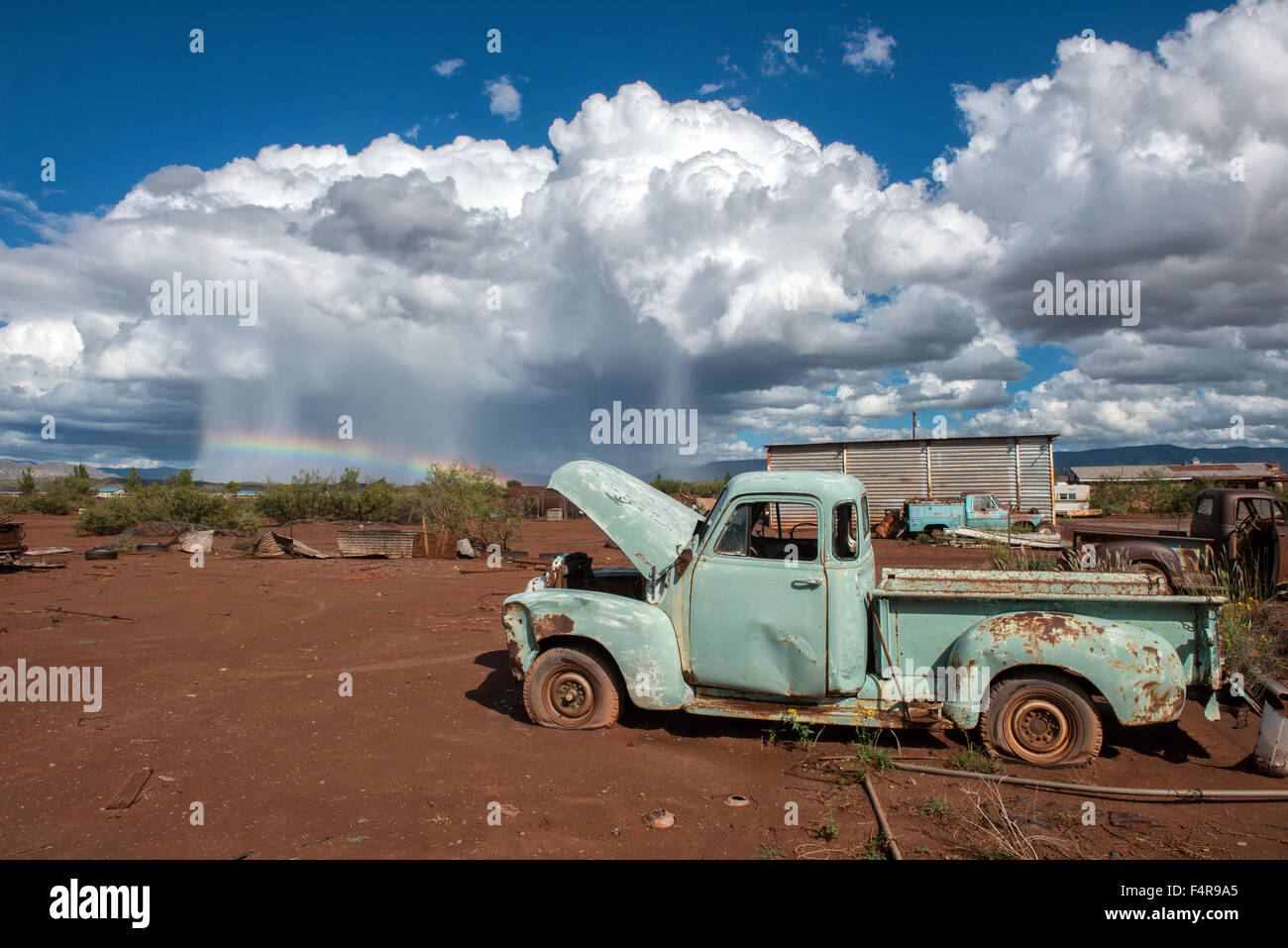 USA, United States, America, Southwest, New Mexico, Otero County, Alamogordo, redneck, poverty, ghost town, outback, - Stock Image