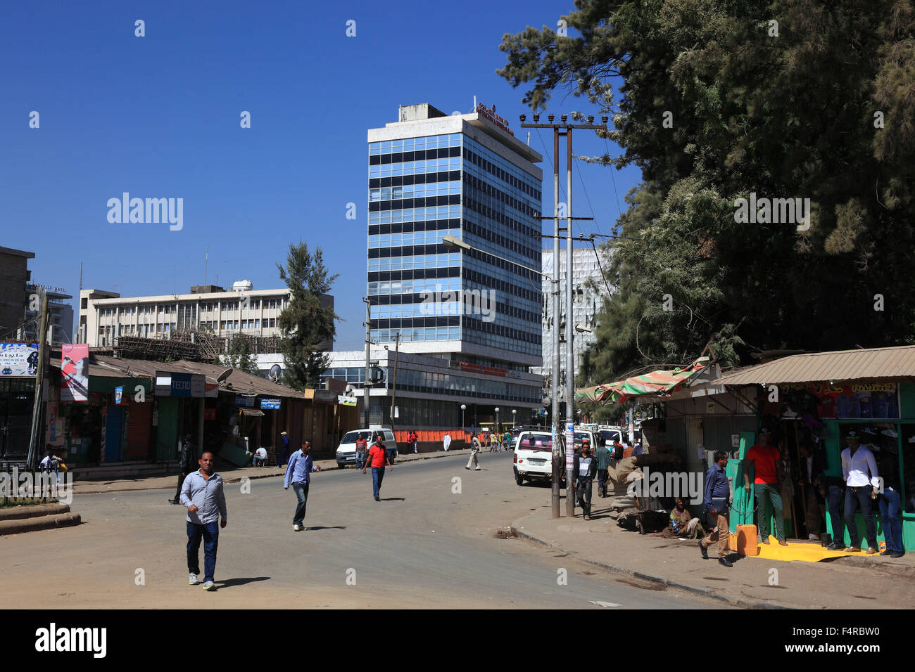 City center office spacejpg Carr Workplaces Addis Ababa Street Scene In The City Center Highrise Office Building Kmc Savills Addis Ababa Street Scene In The City Center Highrise Office Stock