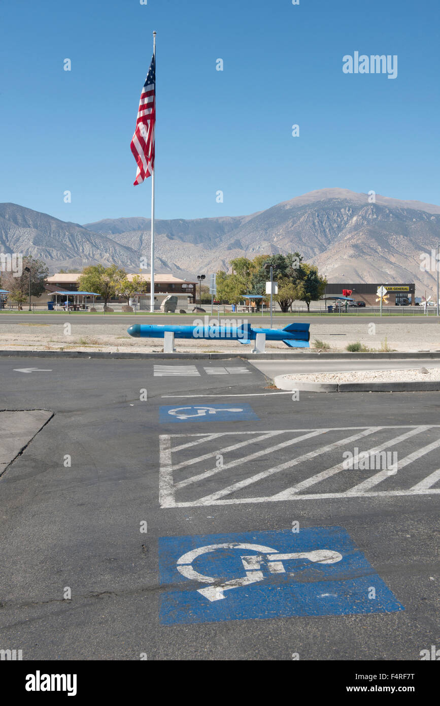 USA;Nevada, Mineral County, Hawthorne - Stock Image