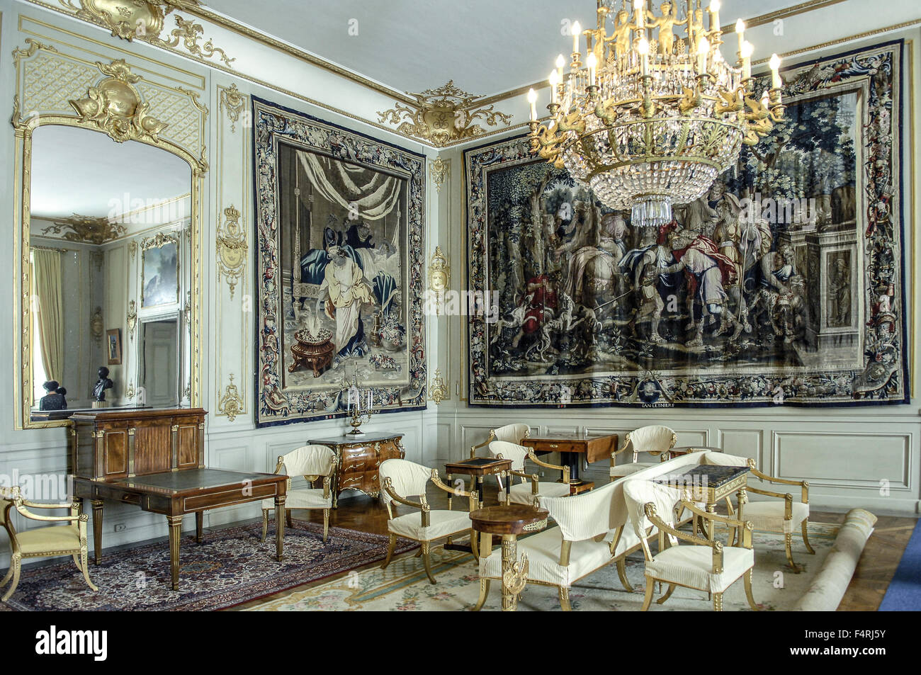 Sweden stockholm the royal palace interior