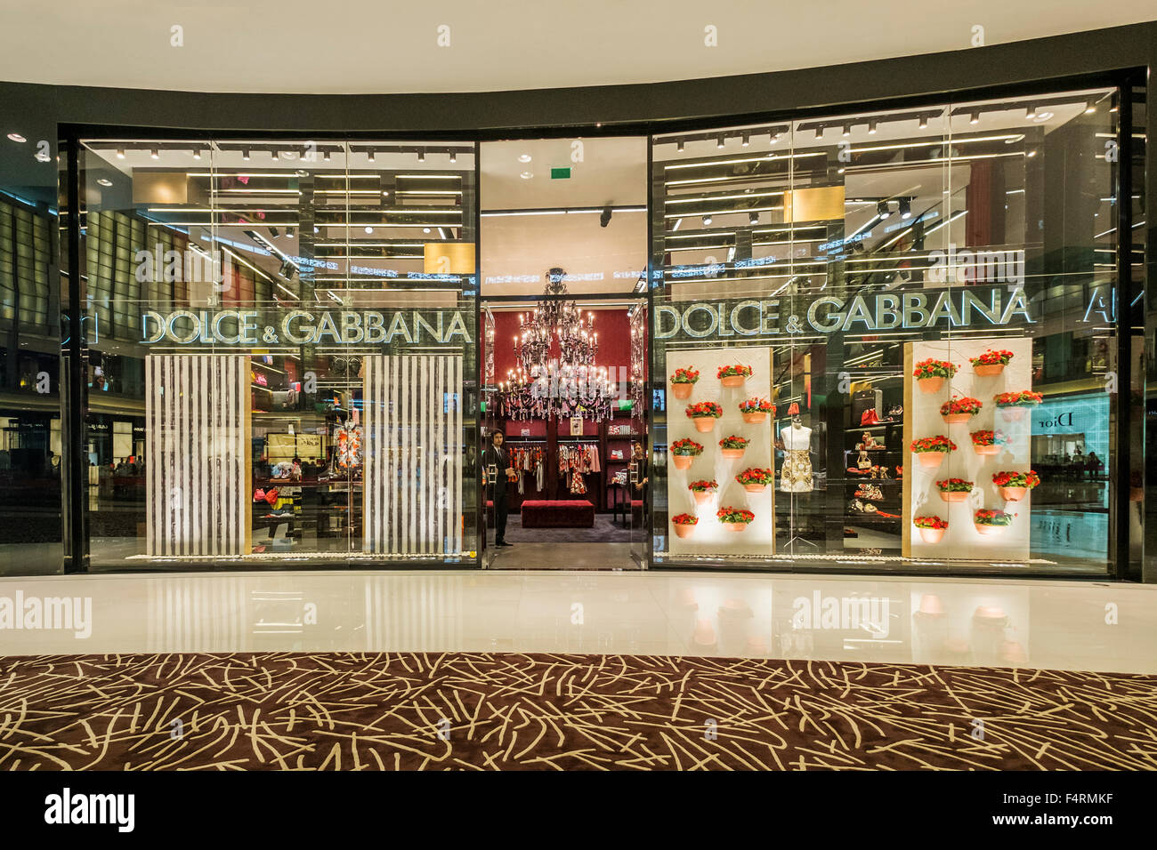 bde226e531ad view of Dolce and Gabbana fashion boutique inside Dubai Mall in United Arab  Emirates