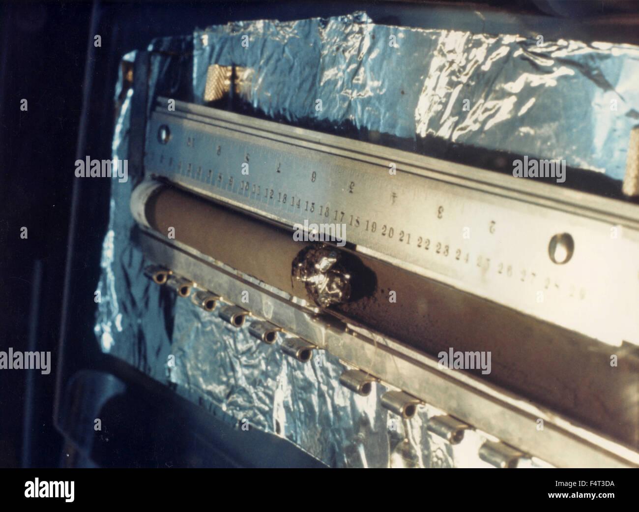 Precise lunar module of Apollo 11, USA - Stock Image