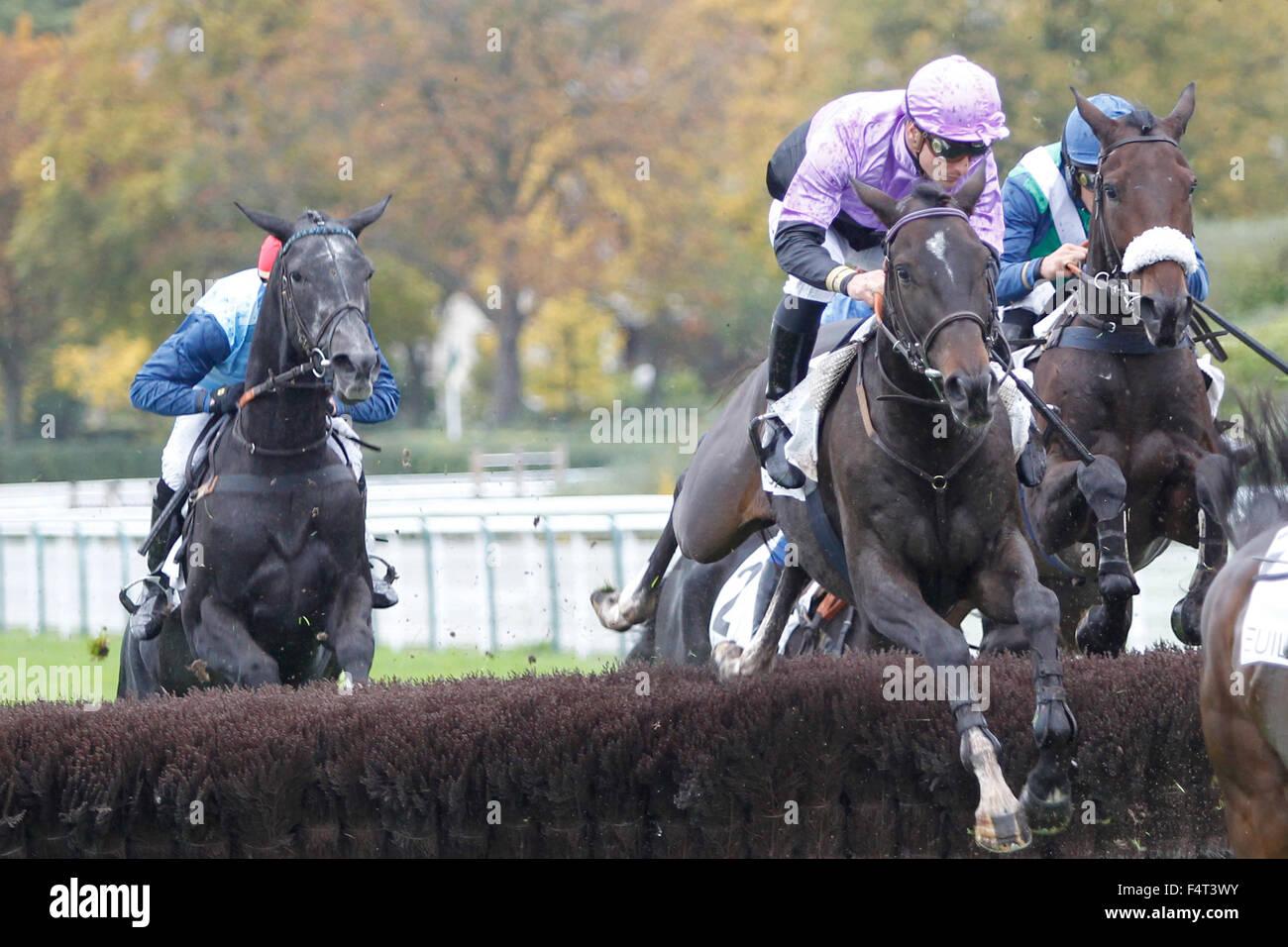 Auteuil Racecourse Paris France 22nd Oct 2015 Prix Mid Dancer