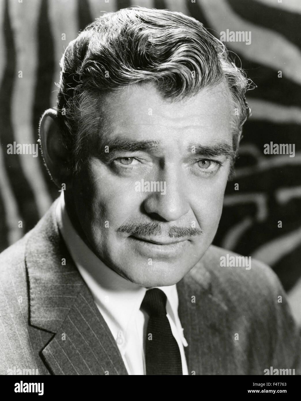 American actor Clark Gable - Stock Image