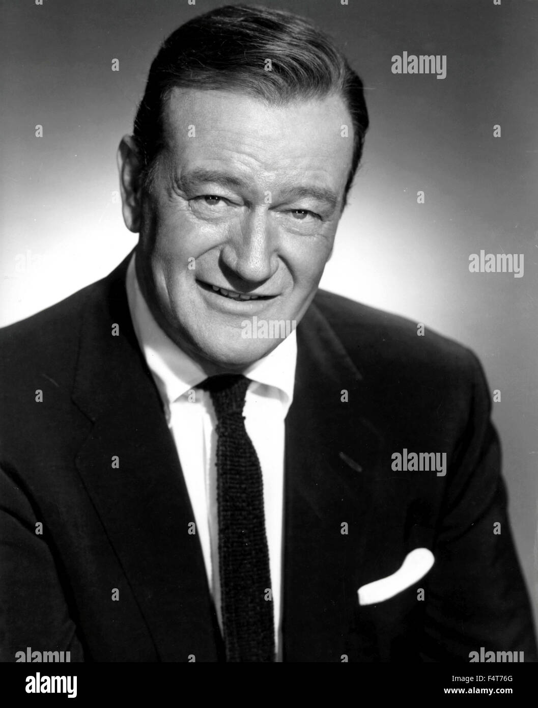American actor John Wayne - Stock Image