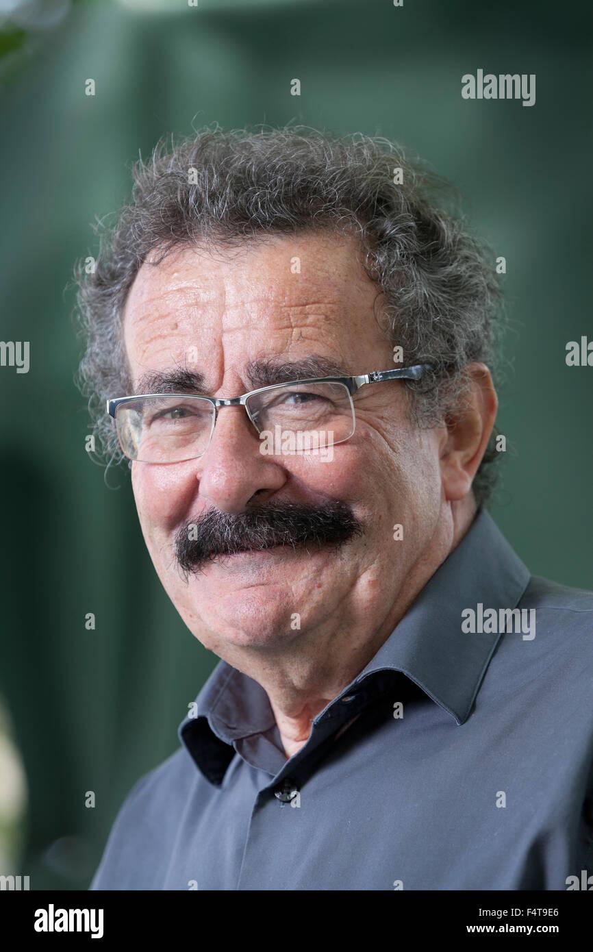 Professor Robert Winston, British academic, writer and broadcaster, at the Edinburgh International Book Festival - Stock Image