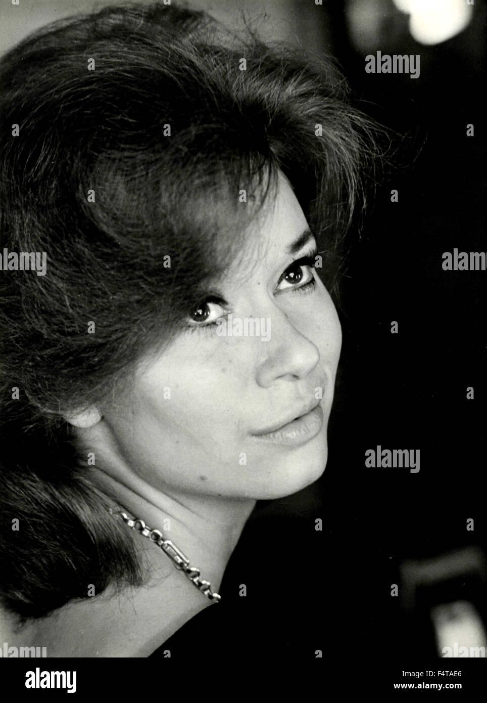 Italian actress Lea Massari - Stock Image