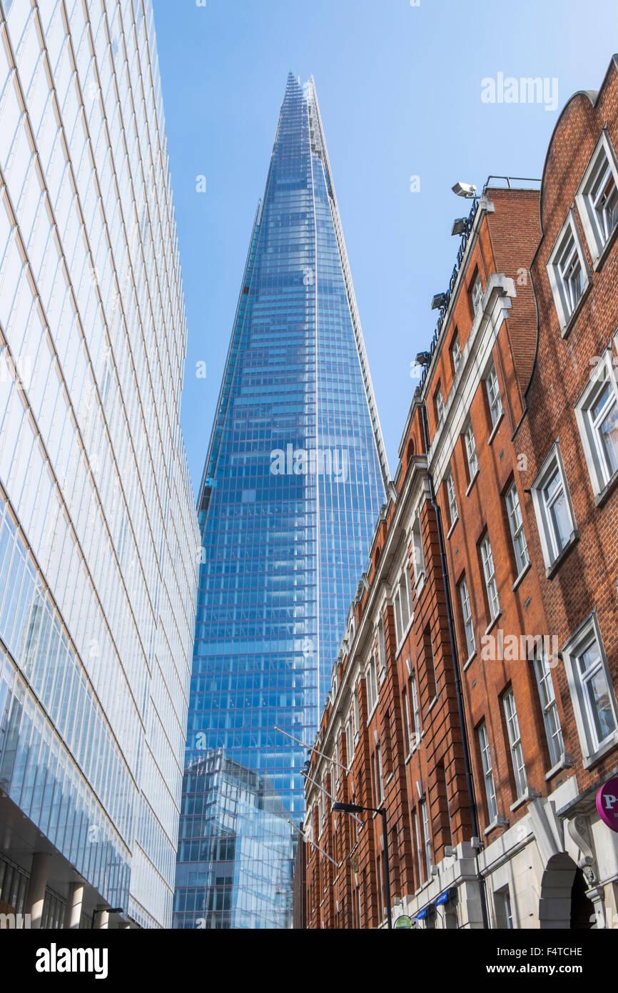 England, London, Southwark, The Shard - Stock Image