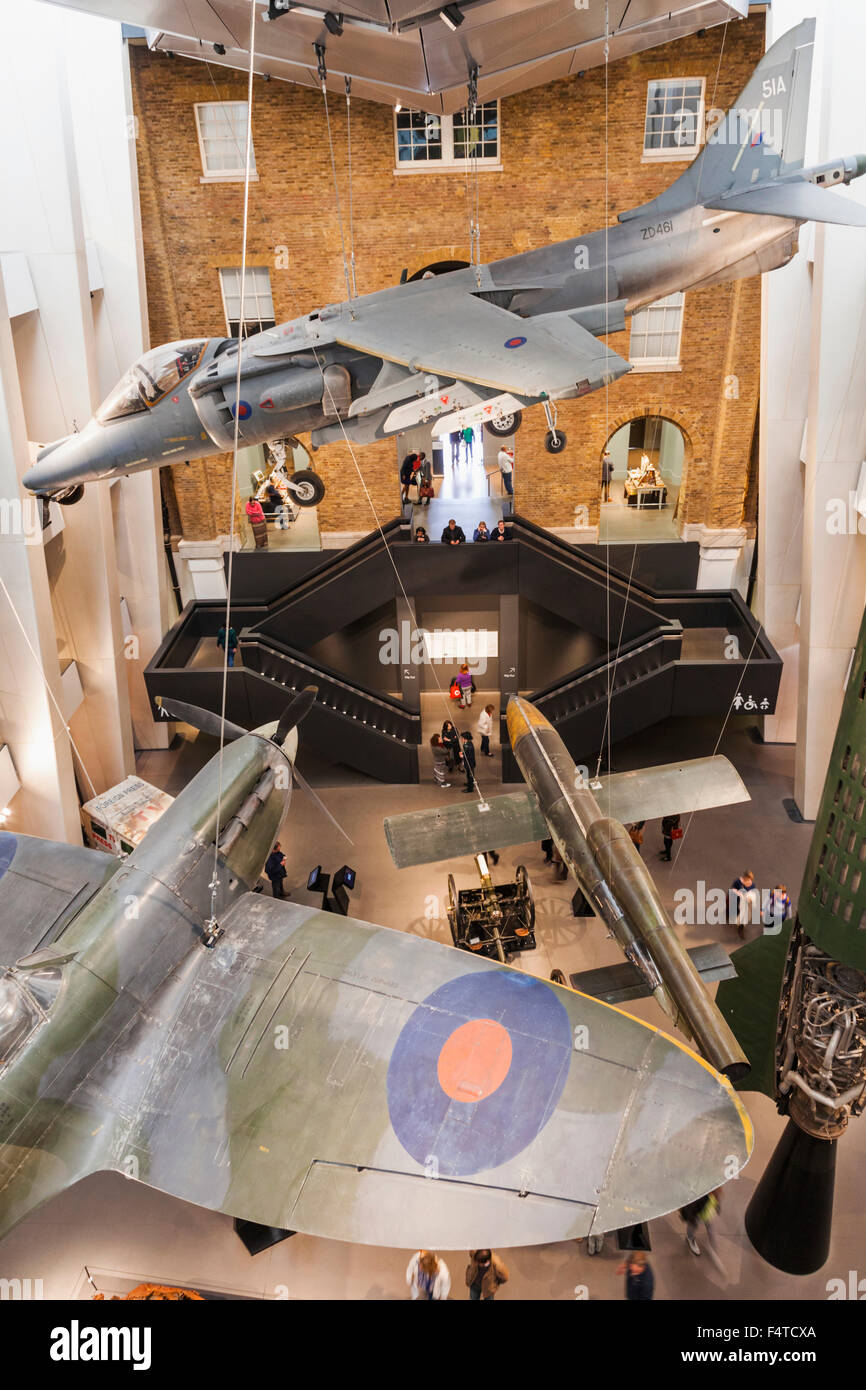 England, London, Lambeth, Imperial War Museum - Stock Image