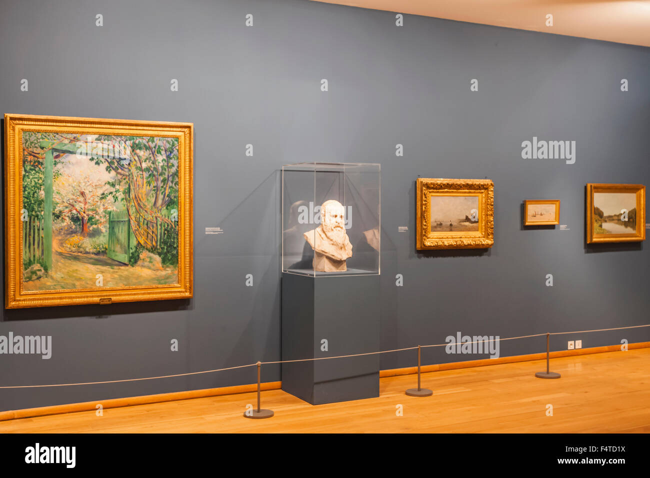 France, Normandy, Giverny, The Musee des Impressionisms aka The Impressionist Museum - Stock Image