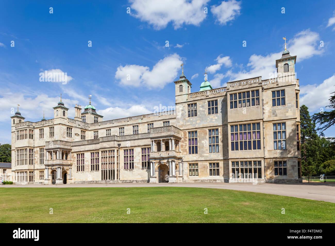 England, Essex, Saffron Walden, Audley End House - Stock Image