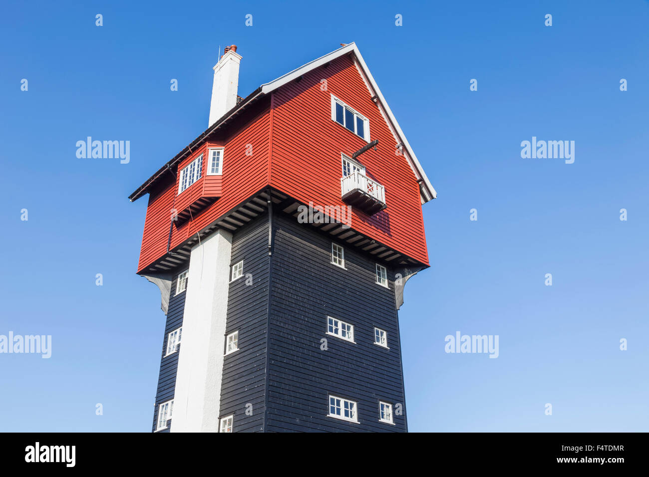 England, Suffolk, Thorpeness, House in The Clouds - Stock Image