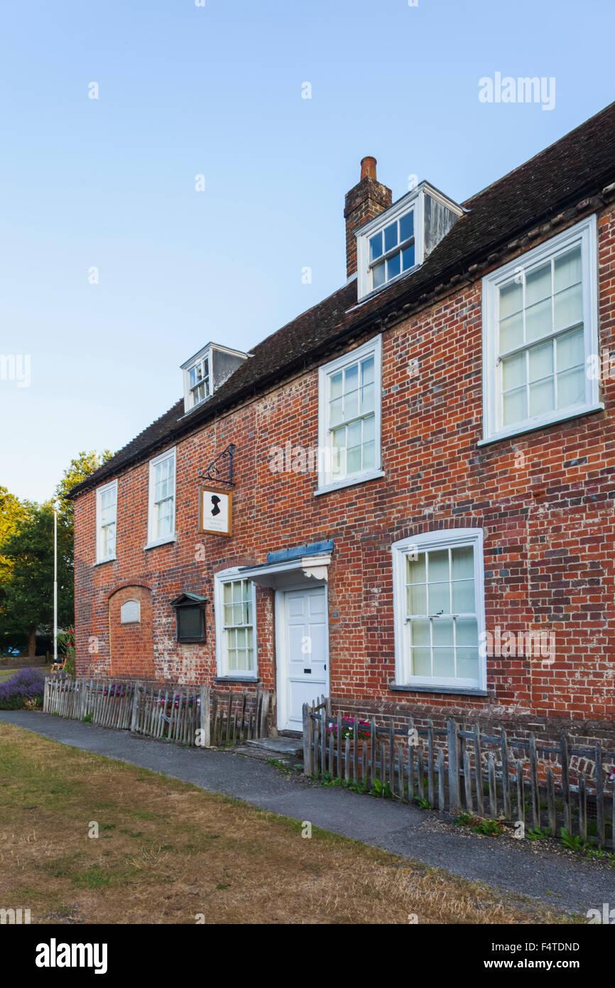 England, Hampshire, Chawton, Jane Austen's House - Stock Image