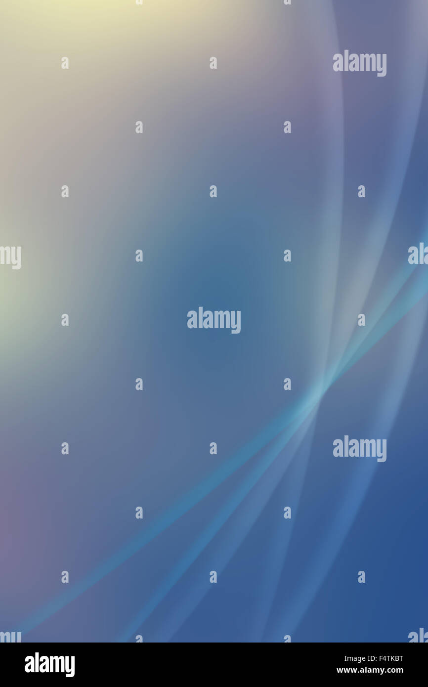 blue soft abstract background - Stock Image
