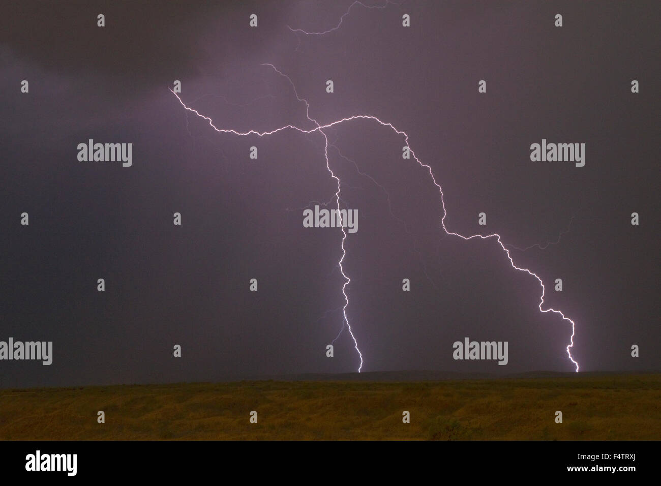 A Destructive Evening Freak Storm In Penang: Electrical Storm Stock Photos & Electrical Storm Stock