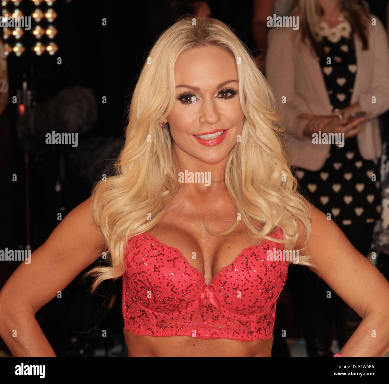 Borehamwood, UK, 1st Sep 2015: Kristina Rihanoff attends the Strictly Come Dancing - red carpet launch at BBC Elstree - Stock Image