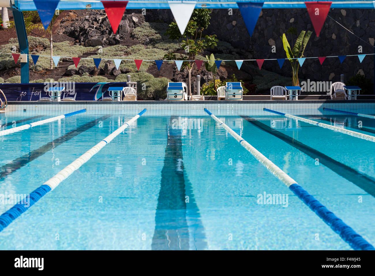 Olympic size swimming pool Stock Photo 89073493 Alamy