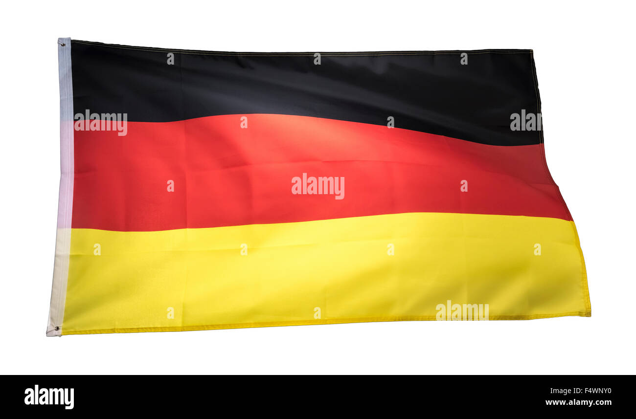 german flag, germany flag, deutschland flag - Stock Image