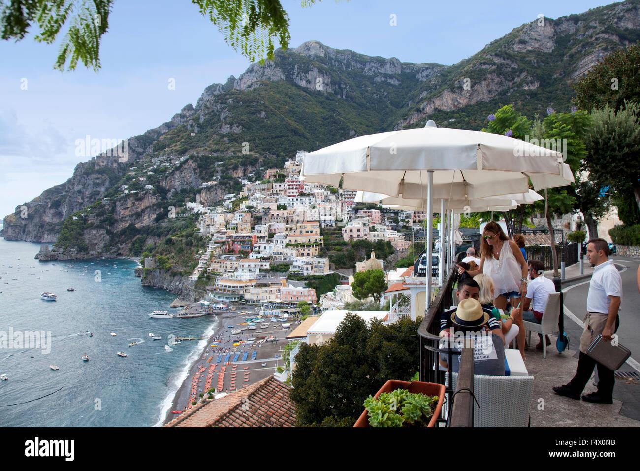 Amalfi Coast Cafe Stock Photos Amalfi Coast Cafe Stock